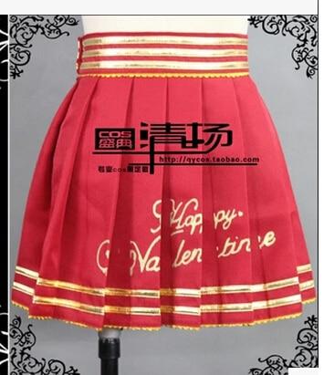 Anime Woo Mi Valentine S Day Yazawa Niko Cosplay Costume Love Live