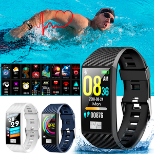 Image 2 - VTIN DT58 Smart Band ECG PPG Sport Smart Watch IP68 Waterproof Heart Rate Monitor Blood Pressure Watch Sport Wristband