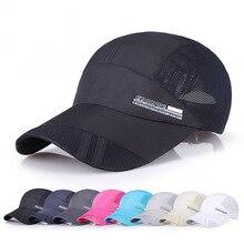 New Arrivals Adjustable Breathable Running Golf Fishing Baseball Caps Sunshade Mesh Hat Men Women Outdoor Sportswear Accessories