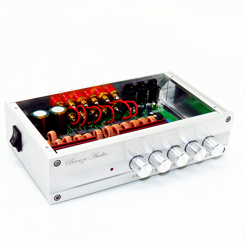 Family 5.1 channel amplifier/TPA3116-350w- 5.1 6-channel Stereo Audio amplifier bass100W  50W*5  independent tone adjustment