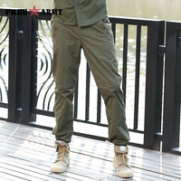FREEARMY Brand Clothing Male Pants Army Green Spring Military Sweatpants Pants Summer New Straight Trousers Men