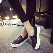 Spring and autumn New 2015 fashion women shoes women flat slip on higher fashion Bost shoes comfortable Loafers