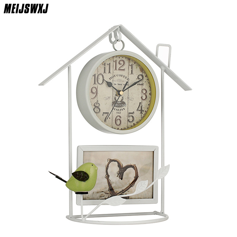 Coupon For Wholesale Buyer Price Good Quality Silver Fashion New Enamel Bird Cage Birdcage Pocket Watch Necklace Hour Clock Gift Modern Techniques Watches