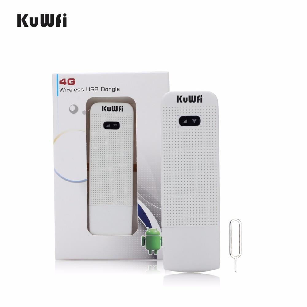 <font><b>KuWfi</b></font> 4G Router USB Wireless <font><b>Modem</b></font> SIM Slot