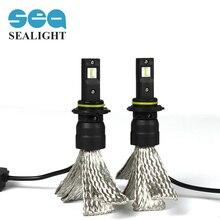 SEALIGHT Авто Свет HB3 70 Вт 8000LM автомобильной 9005 СВЕТОДИОДНЫЕ фары Автомобиля Противотуманные Лампы заменить Ксеноновые Лампы Halogen Light белый