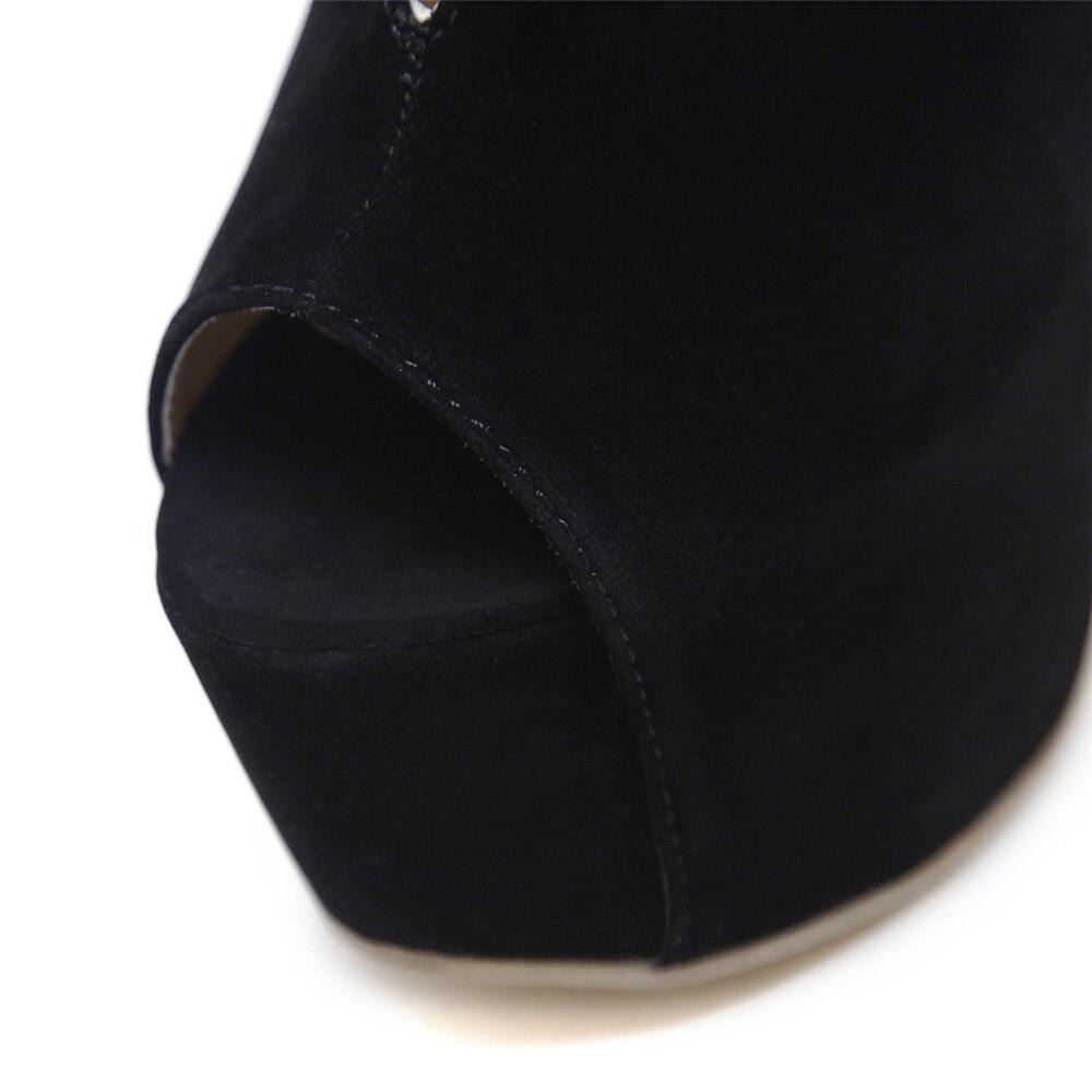 Hauts Noir Automne Peep Haute Dames Pompes Printemps Asumer De Sexy Super Boucle Bal Talons Toe Mince Chaussures Talon Femmes Troupeau PkOluXiTwZ