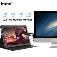 Eyoyo EM10T 10 ips Портативный HDMI игровой монитор 2560x1600 высокого Разрешение для портативных ПК совместим с PS4 Raspberry Pi