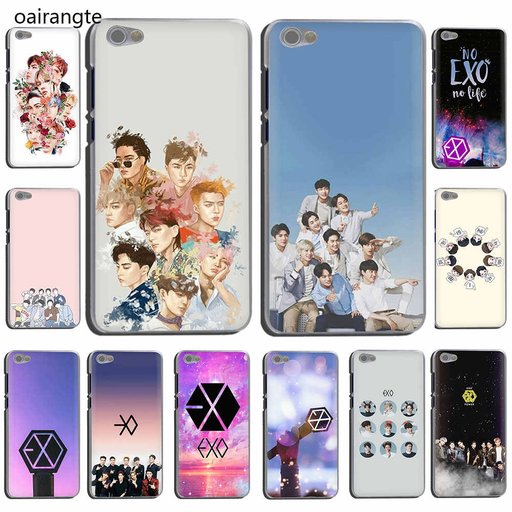 EXO band k-pop kpop Hard Telefoon Cover Case voor Xiaomi Redmi 5 Plus GAAN 6A S2 Note 8 5 6 7A Pro 4x K20 pro