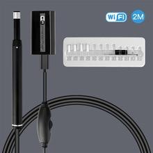купить WiFi Ear Endoscope HD Visual Ear Cleaning Spoon Ear Health Care Cleaning USB Visual Earpick Medical Ear Inspection Camera по цене 1374.7 рублей