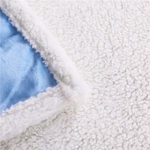 Image 5 - BlessLiving French Bulldog Sherpa Blanket on Bed Animal Dog Throw Blanket for Adult Brown Gray Bedding mantas para cama 150x200