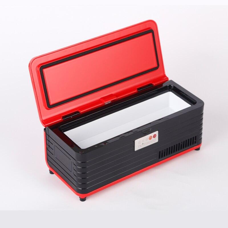 New Insulino Cooler Refrigerated Fridge Portebla Drogo Reefer Auto Small Refrigerator With Rechargeable Battery Portebla Cooler