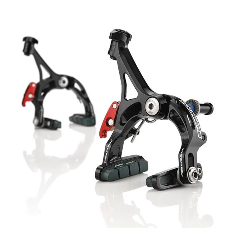 210g/set FOURIERS BR-DX001Bike Extreme lightweight full CNC brake caliper for road bicycle 210g fouriers br dx004 cyclo cross v brake lever al6066 t6 full cnc road bicycle lever