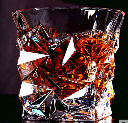 2016 New Multi style Square Crystal Whiskey Glass Cup For the Home Bar Beer Water and