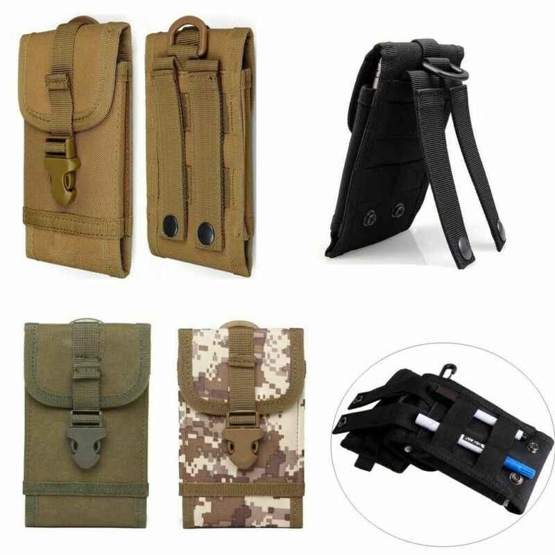 Uomini Esterna Universale Molle Esercito Tattico Del Telefono Mobile Del Sacchetto della custodia per Armi della Cassa del Sacchetto Della Cinghia del Sacchetto Marsupi