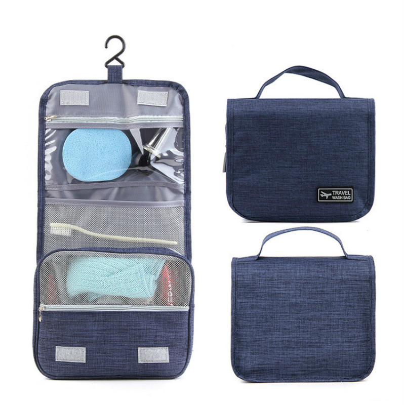 Travel Folding Makeup Bag Wash Bag Toiletry Pouch Waterproof Cosmetic Kit Beauty Case Portable Necessaries Storage Organizer Bag(China)
