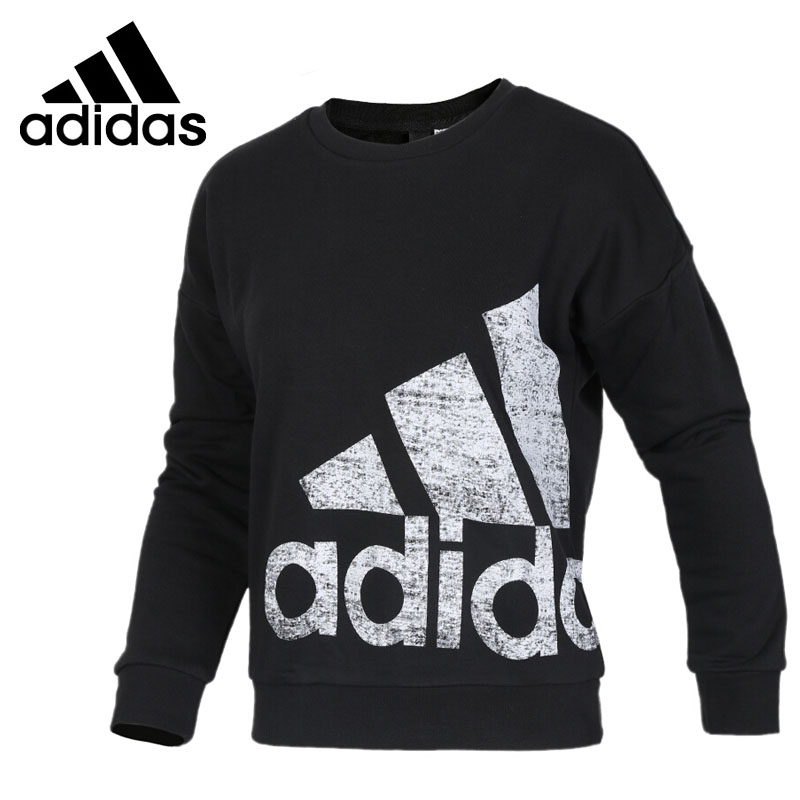 Original New Arrival 2017 Adidas GFX CREW BIG L Women's  Pullover Jerseys Sportswear adidas new arrival official ess 3s crew men s jacket breathable pullover sportswear bq9645