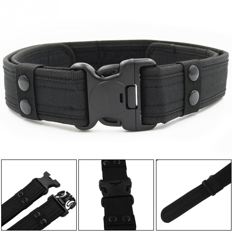 Practical Tactical Waistband Outdoor Canvas Army   Belt   with Buckle For Men Male Waistband Camouflage Tactical Hot Sale#11