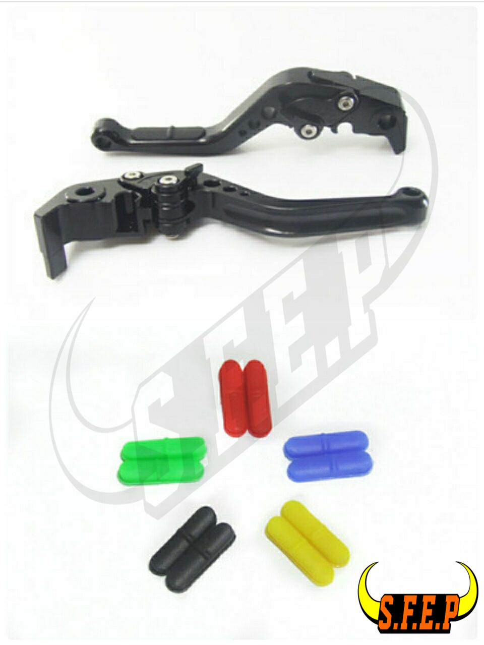 CNC Adjustable Motorcycle Brake and Clutch Levers with Anti-Slip For Suzuki GSR600 2006-2011