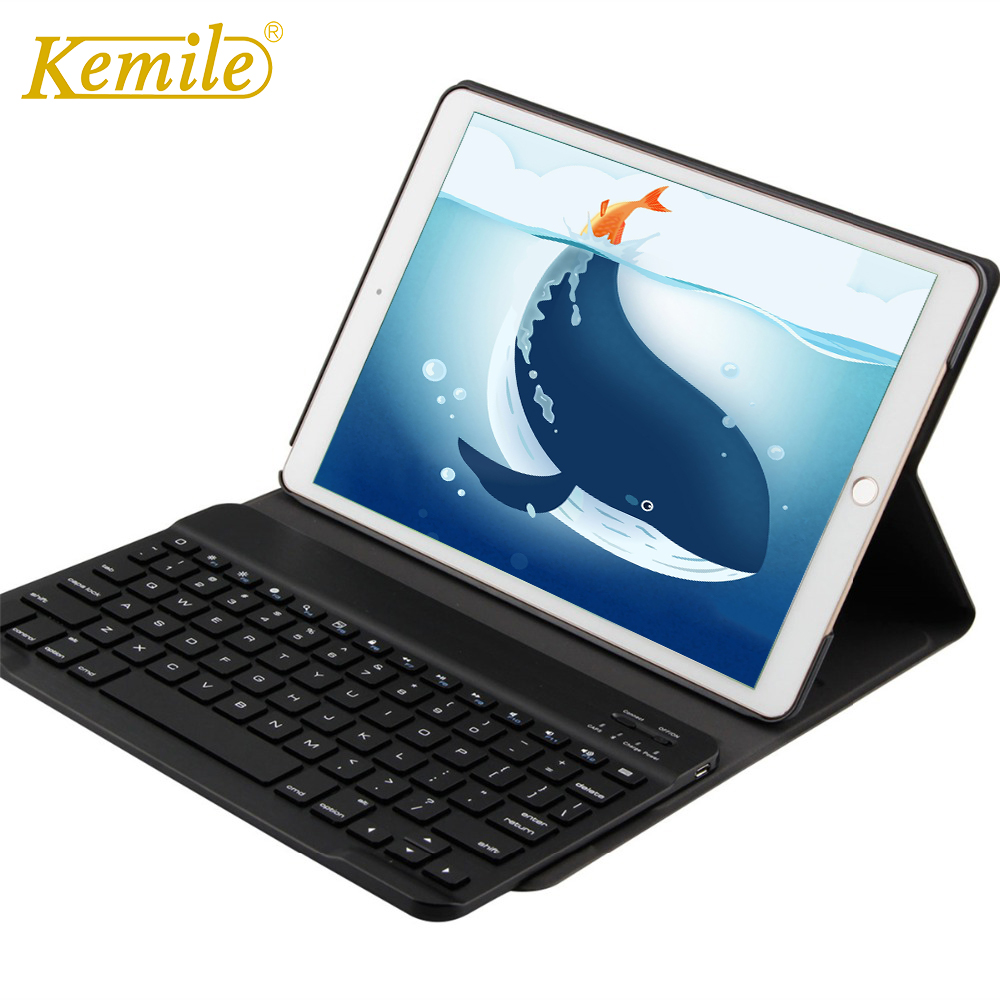 Kemile Portable Leather Case For iPad pr