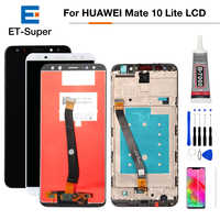 Para Huawei Mate 10 Lite Pantalla LCD de Pantalla táctil digitalizador asamblea para Huawei G10 G10 Plus Pantalla RNE-L01 L02 L03 l21 L22 L23