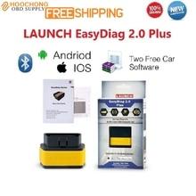 Launch X431 Easydiag2.0 Диагностический Инструмент x431 легкий diag 2.0 для Android и IOS 2in1 Обновление Онлайн