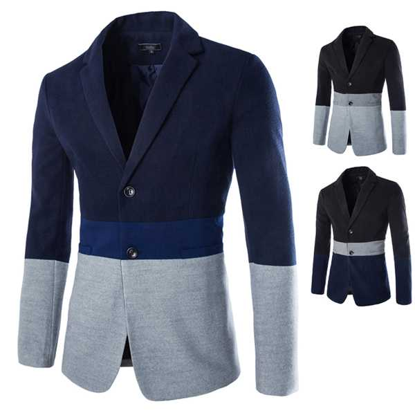 Online Get Cheap Contrast Blazer for Men -Aliexpress.com | Alibaba ...