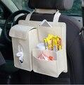 Простой повседневный стиль ткань плюша автомобиль висит сумка тип многофункциональный, творческий ящик для хранения автомобиля мешки