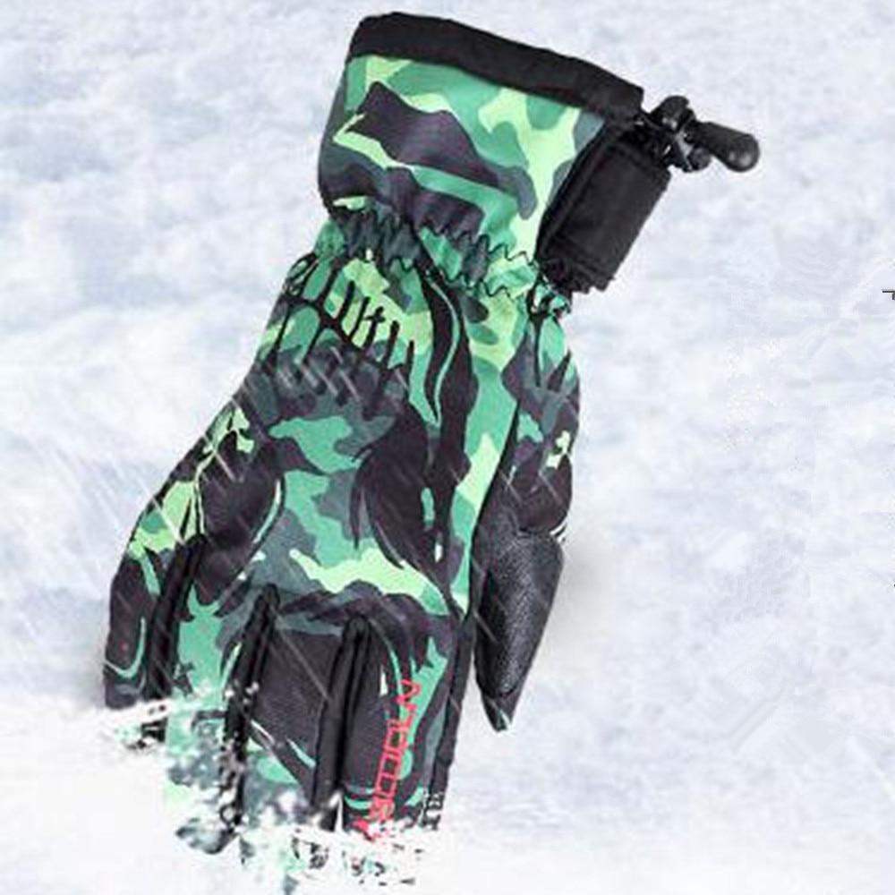 BOODUN Luvas de Esqui de Inverno À Prova D' Água À Prova de Vento Placa de Homens Solteiros e Mulheres Profissionais Homens e Mulheres Luvas Quentes - 5