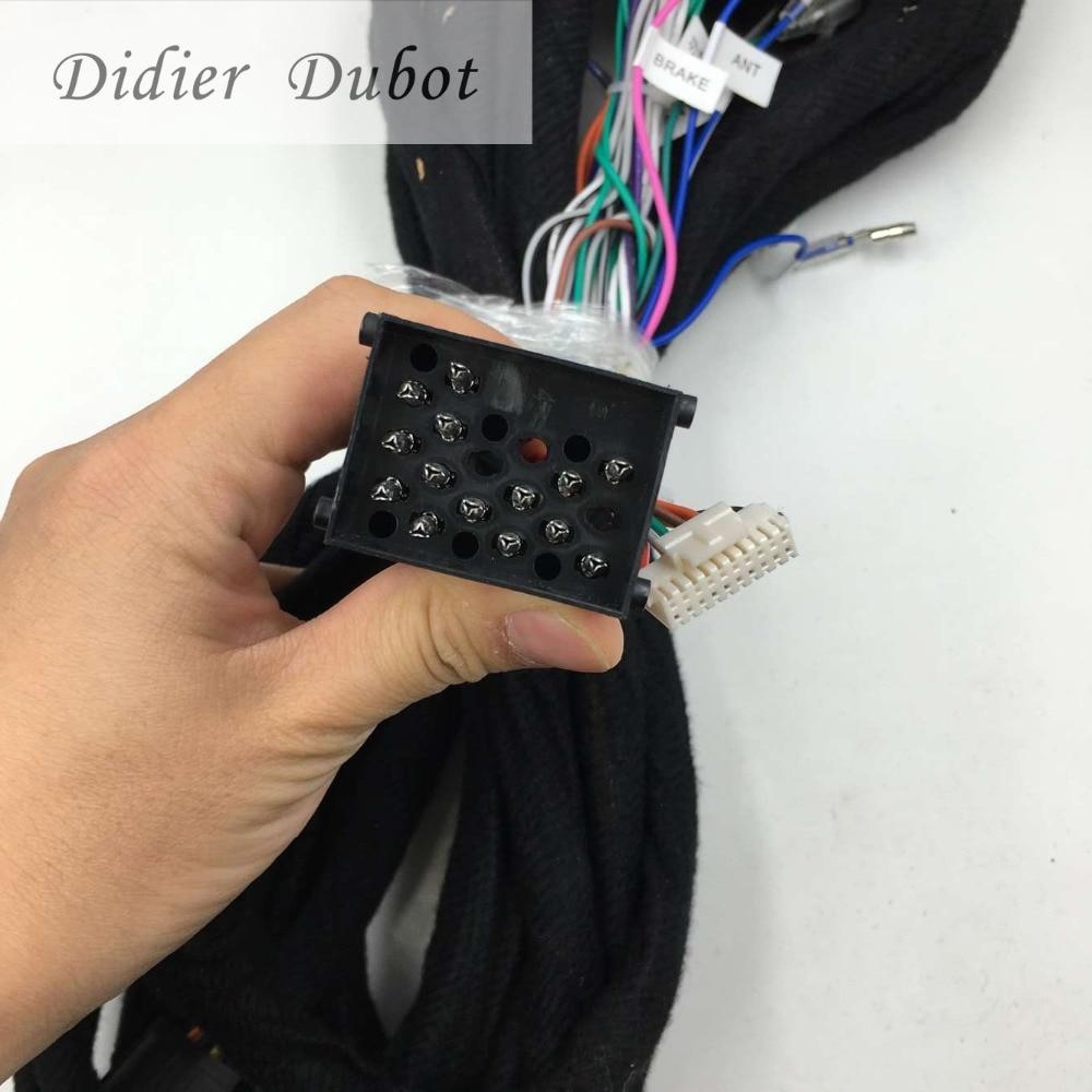imágenes para Cable De Alimentación de largo 6 Metros de Largo Para BMW E38 E39 E46 E53 X5 Android Coches Reproductor de DVD GPS Navi. se acaba de encajar máquina de nuestra fábrica.
