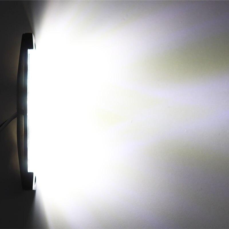 2 шт. 12 В автомобильные Внешние огни белый 6 Автомобильный светодиодный SMD автомобильный Грузовик боковой габаритный индикатор трейлер свет...