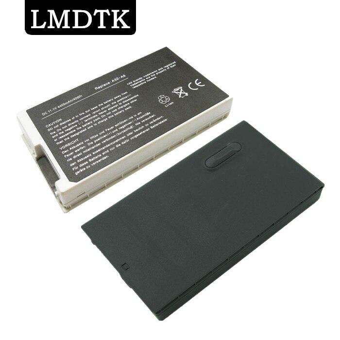 LMDTK Nouveau 6 cellules batterie d'ordinateur portable POUR ASUS A8/A8000 X80 N80 X88 Z99 série 90-NF51B1000Y 90-NNN1B1000Y A32-A8 livraison gratuite