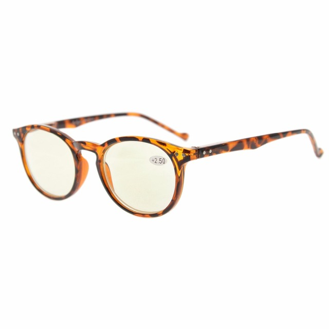 3439086cf2 Eyekepper cg071 oval retro ronda ordenador lectores primavera-bisagras  ordenador gafas de lectura gafas lente