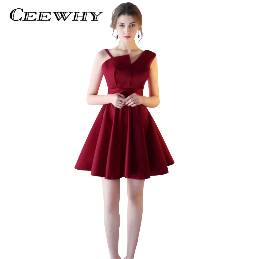 CEEWHY A-Line Short Prom   Dress   Formal Gowns   Cocktail     Dress   2017 Evening Party   Dress   Wedding Party Homecoming   Dresses   Plus Size