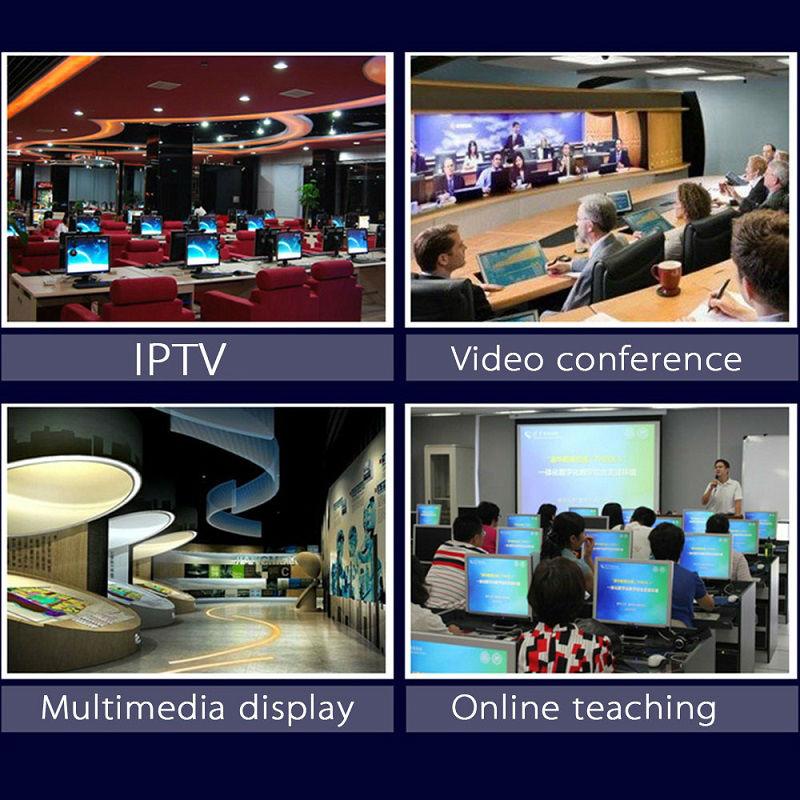 H.264 უსადენო VGA Encoder for IPTV - სახლის აუდიო და ვიდეო - ფოტო 3