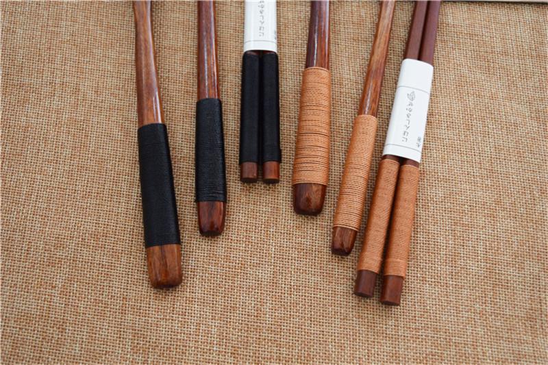 Vajilla portátil de madera 11