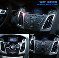 Chrome ABS interior outlet decoration ring 5pcs/lot For Ford Focus 3 Focus 4 MK3 MK4 2012 2013 2014 2015
