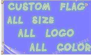 Custom flagge ösen-in Fahnen, Banner und Zubehör aus Heim und Garten bei  Gruppe 1