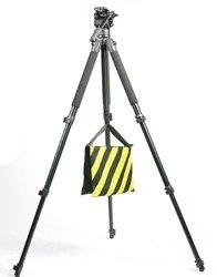 2 Black Yellow Heavy Duty Sand Bag Photography Studio Video Stage Film Sandbag Saddlebag for Light Stands Boom Arms Tripods 2Pc