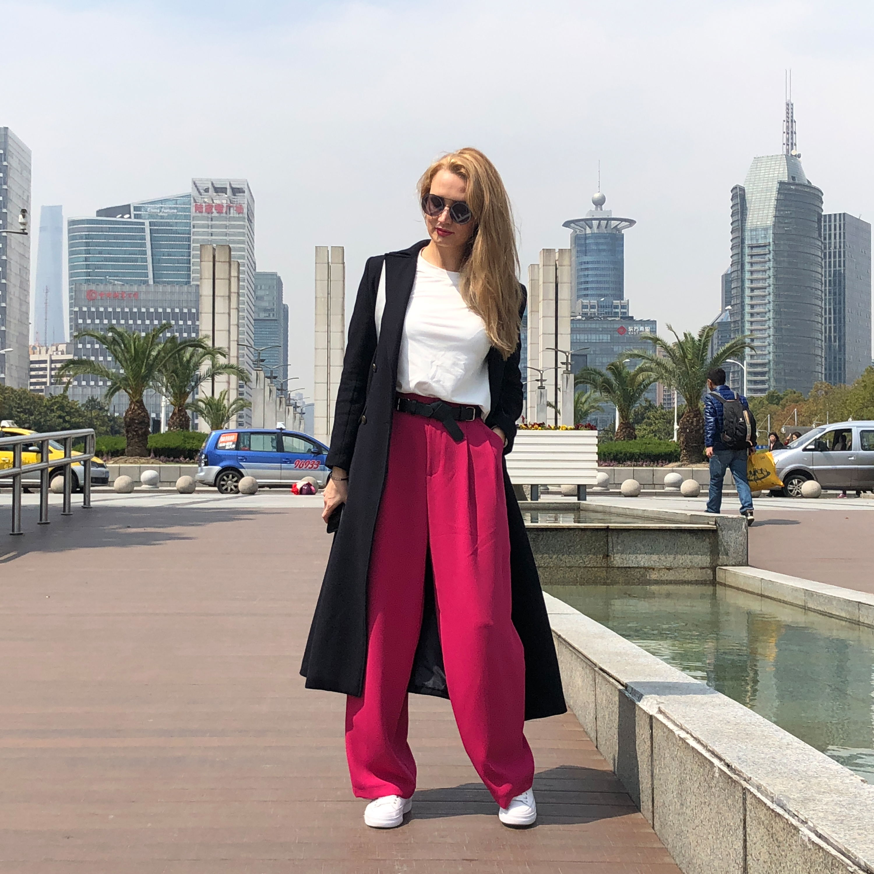 Image 3 - FATIKA 2019 Winter Hot Women Thick Pants Loose Solid Wide Leg Pants Trendy Ladies Loose Trousers Women's Clothing-in Pants & Capris from Women's Clothing