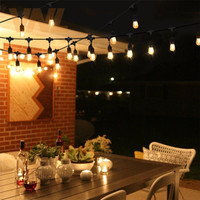 AU Plug 7M 10M 15M 2W LED Waterproof E26 E27 String Lights Indoor/Outdoor Street Garden Patio Backyard Holiday String Lights