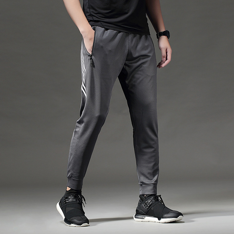 BINTUOSHI Breathable Sport Pants Mens Running Pants With Zipper Pocket Training Trousers Joggings Pant Fitness Trousers For Men(China)