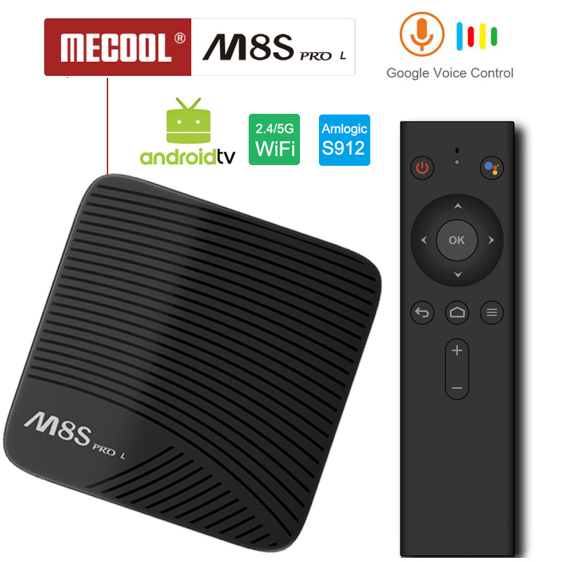 M8S pro L Google Voice Smart TV Box Android 7.1 Amlogic S912 3G/16G 3G/32G TVbox Youtube 4K Ultra HD Movie BT Media Player DHL 5 m8s pro l google voice smart tv box android 7 1 amlogic s912 3g 16g 3g 32g tvbox youtube 4k ultra hd movie bt media player dhl 5