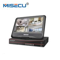 MISECU All In One Security Video Recorder 48V Active PoE 8CH CCTV PoE NVR 1080P With
