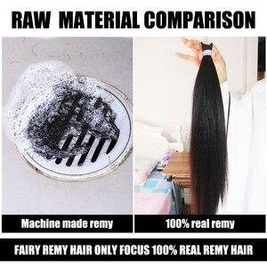 Image 5 - Kératine collée I Tip Extension de cheveux 100% Remy européenne faits saillants Extensions humaines 16 20 pouces 0.8 g/pc 50 pcs/pack fée Remy cheveux