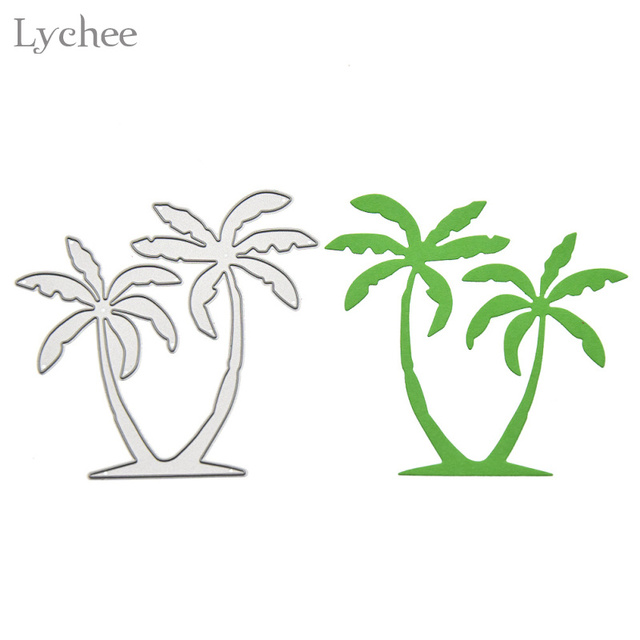 Tree cutout template interesting this paper cut art comes for Printable coconut tree template