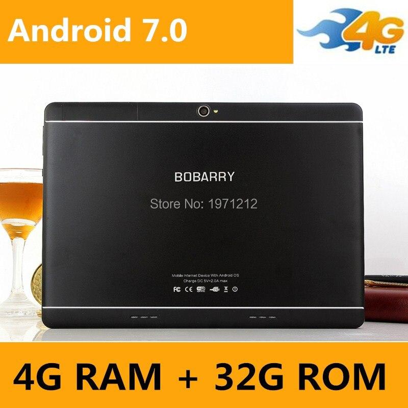 Livraison Gratuite 10 pouce tablet 4G FDD LTE Octa Core 4 GB RAM 32 GB ROM 1920x1200 IPS Enfants Cadeau Comprimés 10 10.1 Android 7.0 Tablet p