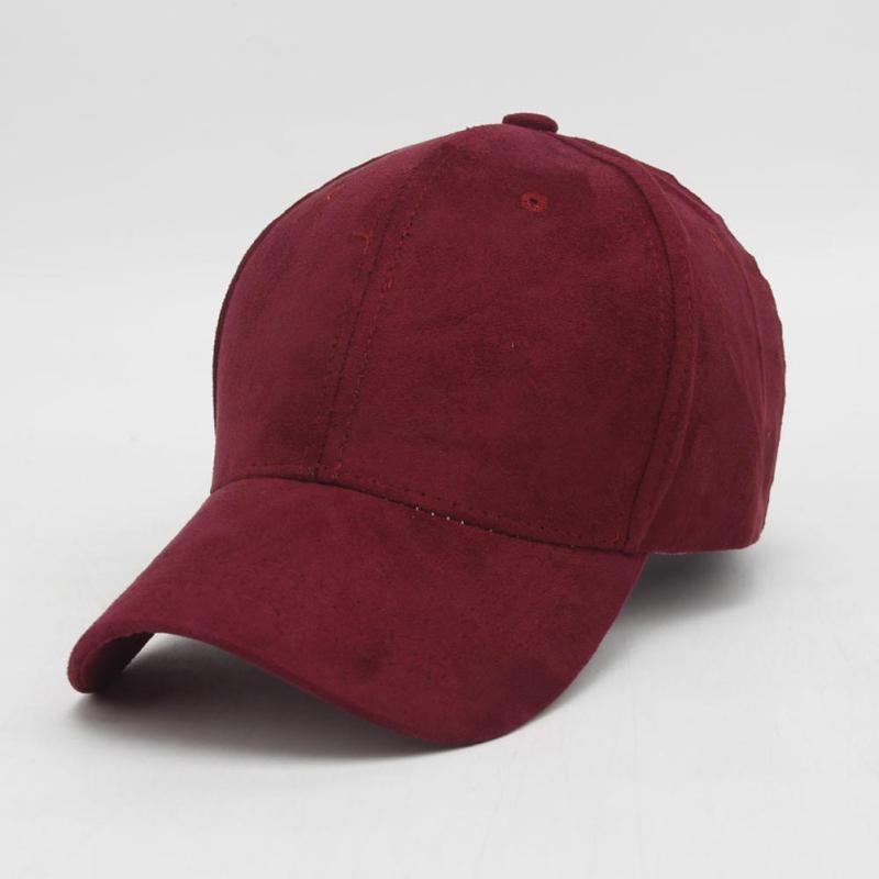 Baseball Cap Men Women Suede Snapback Candy Color Men's Sun Hat Hip Hop Female Suede Gorra Bone Bonnet 2017 Fashion New Z15 chic ice cream color suede baseball hat