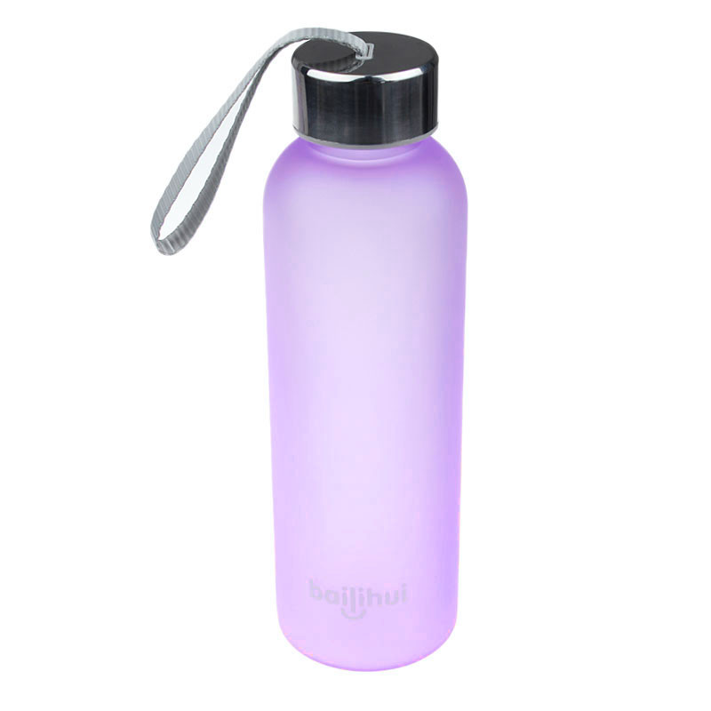 2019 New New Leak Tight Fruit Juice Sport Portable Travel Bottle Water Cup 600ML High Quality Plastic Water Bottle #Q16R (2)