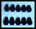 Новое поступление Природного Камня 10 шт. Ограненный Обсидиан Кабошон, 12*8*3 мм, 7.5 г природный камень кабошон грановитая бисера