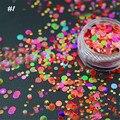 1 Caja de Brillo de Uñas de Color Caramelo 1mm-3mm Mixta Decoración de DIY Ultrafino Diseño Del Arte Del Clavo Del Brillo de Las Lentejuelas brillo 8210739
